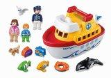 6957 Playmobil 123 Meeneem schip Neptun_