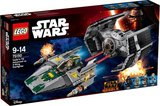 75150 LEGO® Star Wars™ Darth Vader's TIE Advanced vs. A-Win Starfighter_