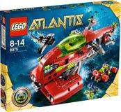 8075 LEGO® Atlantis Neptune moederschip