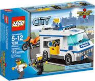 7286 LEGO City Politie Gevangenentransport