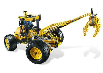 8069 LEGO Technic Graafmachine met Laadbak