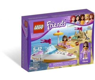 3937 LEGO Friends Olivia's Speedboot