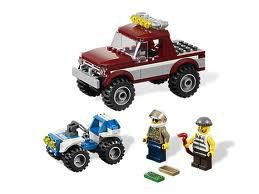 4437 LEGO City Politie Achtervolging