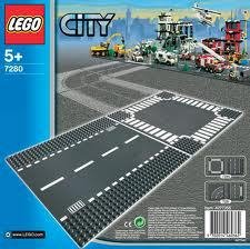 7280  LEGO Bricks & More Grondplaten kruising + recht