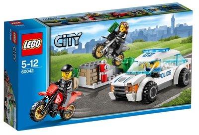 60042 LEGO® City Snelle Politiejacht