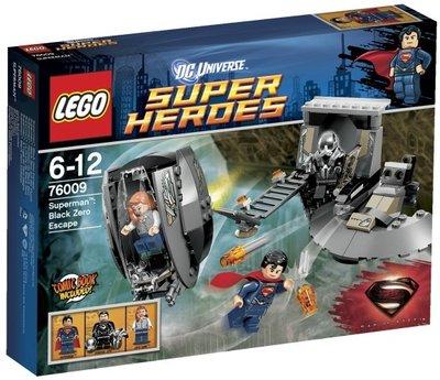 76009 LEGO® Super Heroes Superman Black Zero Escape