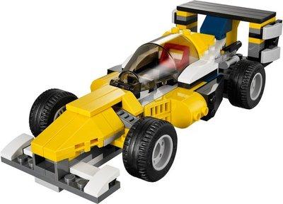 31023 LEGO Creator Gele Racers