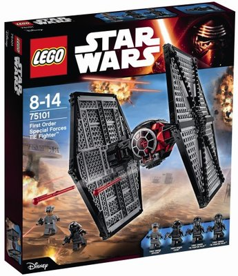 75101 LEGO® Star Wars™ First Order Special Forces TIE Fighter