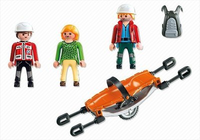 5430 Playmobil Reddingsteam met Brancard