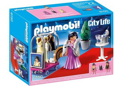 6150 Playmobil Ster op de rode loper