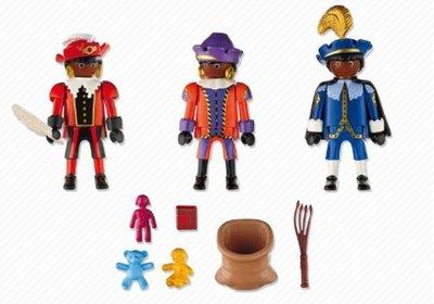 5040 Playmobil Drie Zwarte Pieten