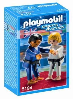 5194 PLAYMOBIL Sports&Action 2 Judoka's