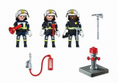 5366 Playmobil Trio brandweermannen