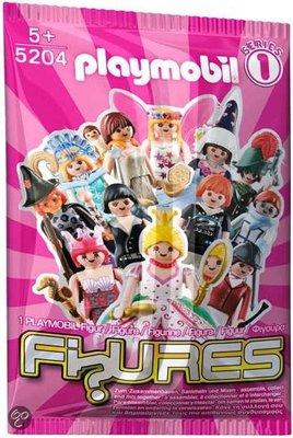5204 PLAYMOBIL Figures Girls Serie 1