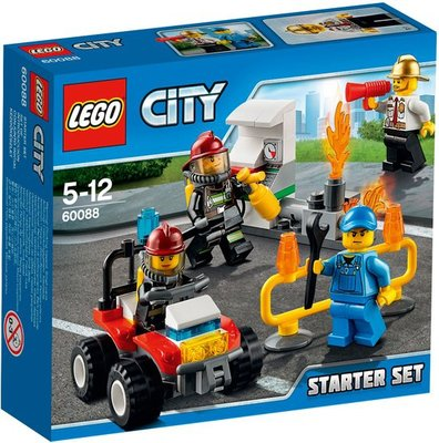 60088 LEGO® City Brandweer Start Set