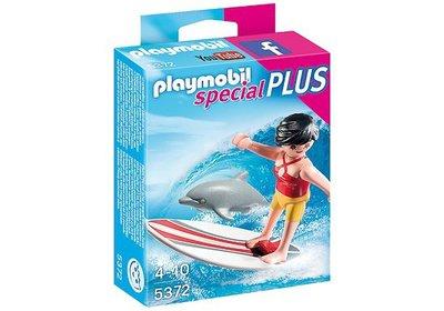5372 Playmobil Surfer met dolfijn