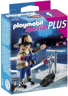 4795 PLAYMOBIL Special Plus Brandweerman met brandkraan