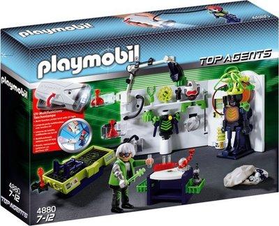 4880 PLAYMOBIL Robo Gangsterlaboratorium