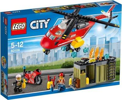 60108 LEGO City Brandweer Inzetgroep