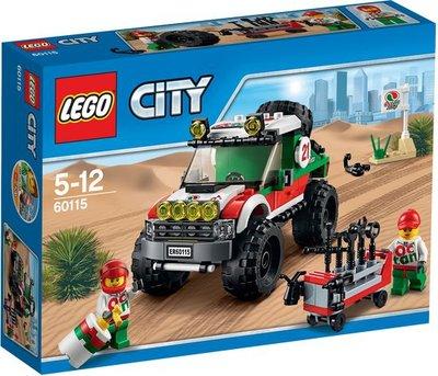 60115 LEGO® City Voertuig 4x4