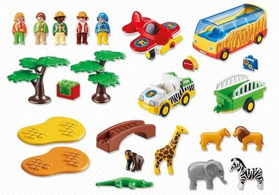 5047 Playmobil 123 Safari