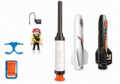 5452 Playmobil Power Rockets