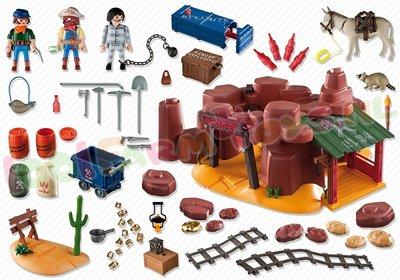 5246 Playmobil Western Goudmijn