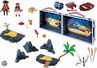 5347 Playmobil Piratenschatkist