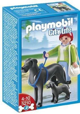5210 PLAYMOBIL City Life Duitse Dog met Puppy
