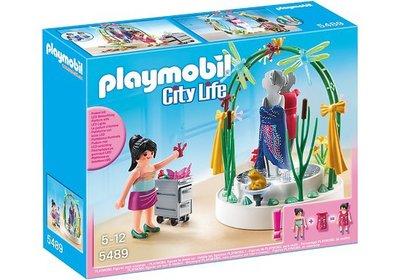 5489 PLAYMOBIL City Life Styliste met verlichte etalage