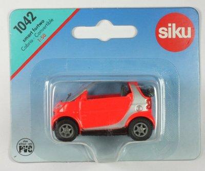 1042 Siku Smart Fortwo Cabrio