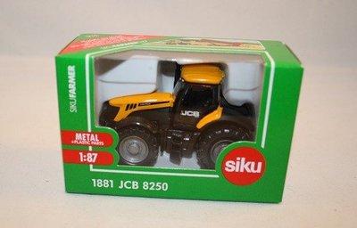 1881 SIKU JCB 8250 Tractor 1:87