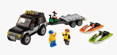 60058 LEGO® City SUV met waterscooters