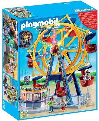 5552 PLAYMOBIL Summer Fun Kermis Groot draairad met kleurrijke verlichting