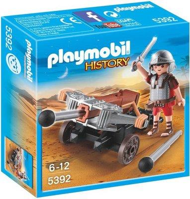 5392 PLAYMOBIL History Romeinse soldaat met ballista