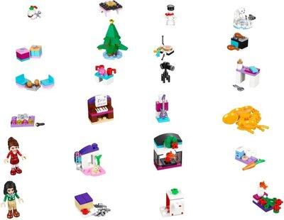 41131 LEGO® Friends Adventskalender