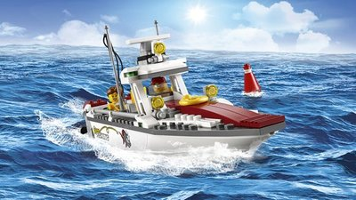 60147 LEGO® City Vissersboot