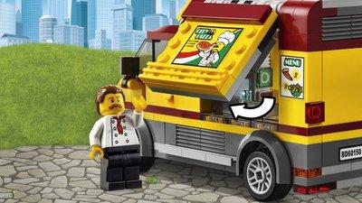 60150 LEGO® City Pizza bestelwagen