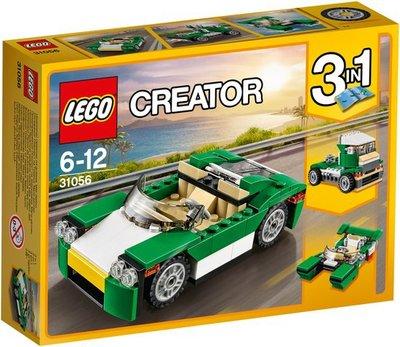 31056 LEGO Creator Groene sportwagen