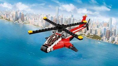 31057 LEGO Creator Rode helikopter
