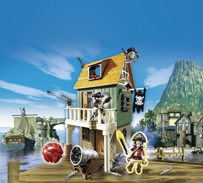 4796 Playmobil Geheime piratenvesting met Ruby Red