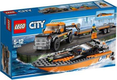 60085 LEGO® City 4x4 met Speedboot