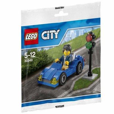30349 LEGO® City Sportauto en Stoplicht