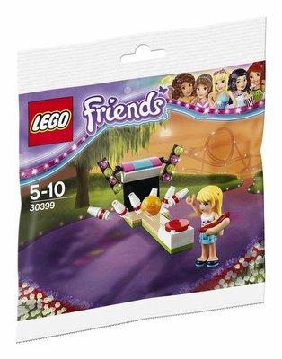 30399 LEGO Friends Pretpark Bowlen (Polybag)