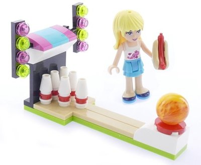 30399 LEGO® Friends Pretpark Bowlen (Polybag)