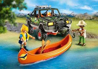 5558 Playmobil Pickup 4x4