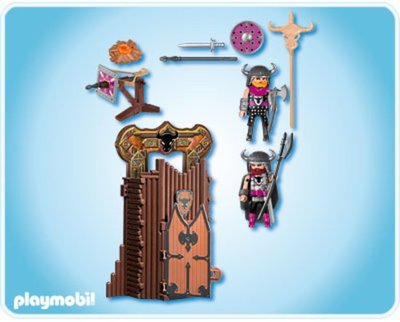 4774 Playmobil Barbarentoren