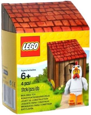 5004468 LEGO® Paaskuiken minifiguur met huis