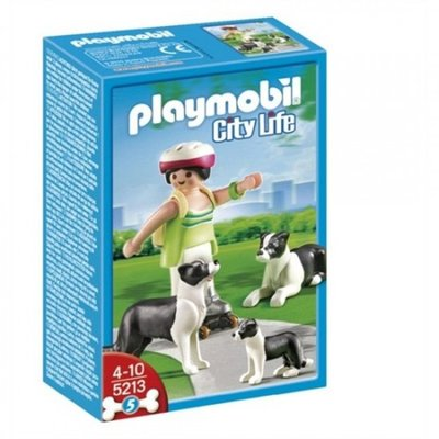 5213 Playmobil Border Collie Familie