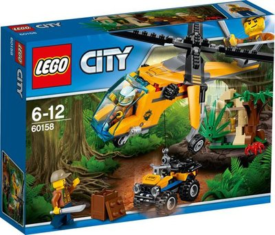 60158 LEGO City Jungle vrachthelikopter